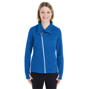North End® Ladies' Amplify Melange Fleece Jacket